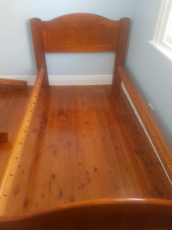 2x king single bed frames