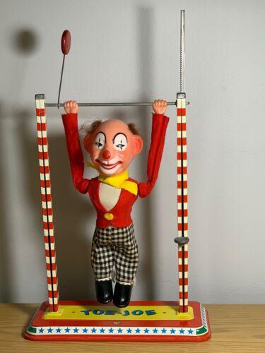Vintage Tin Toy Toe Joe from Ohio Art USA