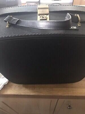Pixie Hard Bodied Vintage Suitcase Vanity Case In Black Econd