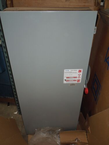 Eaton Dh366ugk3 Heavy Duty Safety Switch 600a 3p 600v Nema 1 Indoor New Surplus