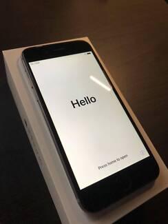 iPhone 6 128gb Unlocked Black + Battery Case