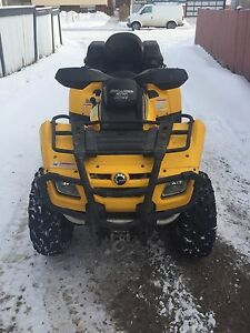 2007 can am 500cc original owner very low km