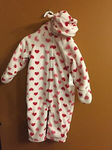 Old Navy fleece suit 18-24 months