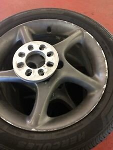 4x100 alloy rims and tires