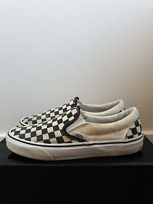 Vans Checkerboard Classic Slip On UK8