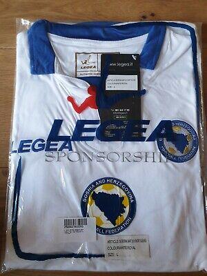 Bosnia and Herzegovina Away Football Shirt 2013-2014 size Large Mens ☆BNIB☆BNWT image