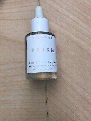Herbivore Prism 12% AHA + 3% BHA Exfoliating Glow Serum 0.33 Oz Travel Size NWOB