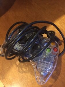 Glow in the dark wired Xbox 360 controller