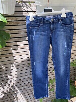 Paige Jeans size 26 JAMES crop Style With Distressed Detailing