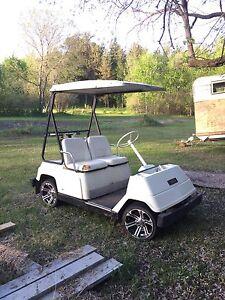 Gas powered golf cart