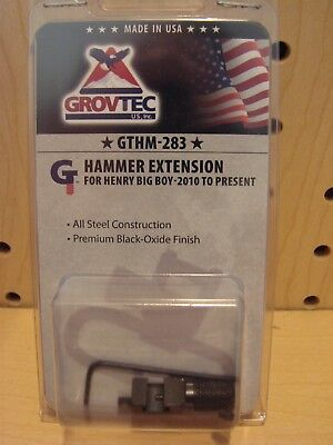 Grovtec Hammer Extension For Henry Big Boy 2010   To Present Gthm 283 New