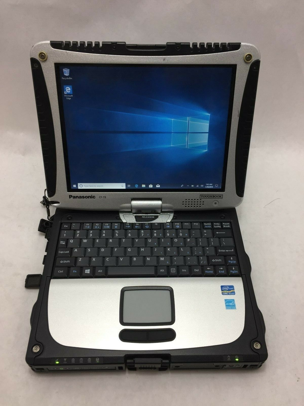 Pansonic Toughbook CF-19 Intel Core i5-3340M 2.7GHz 8GB RAM 128GB SSD (j-4-2) A