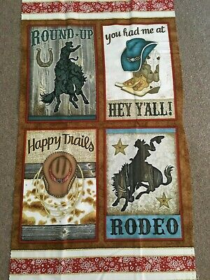 Rodeo Roundup by Beth Logan from Henry Glass Rodeo (Rodeo Glass)