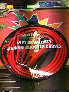 New heavy duty booster cables