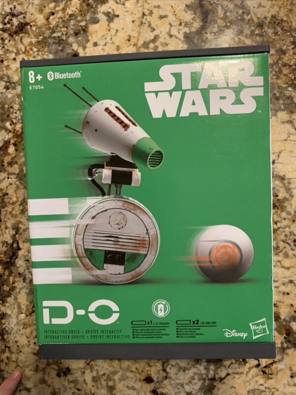 D-O INTERACTIVE DROID Star Wars: The Rise of Skywalker Toy (Hasbro E7054)