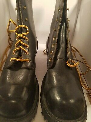 HATHORN WORK BOOTS       Made in USA   Men Size 7 1/2 D-Excellent Condition