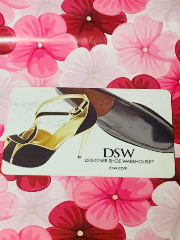 DSW Designer Shoe Gift CARD $75.00