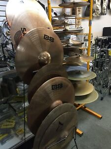 Variety of New and Used Cymbals