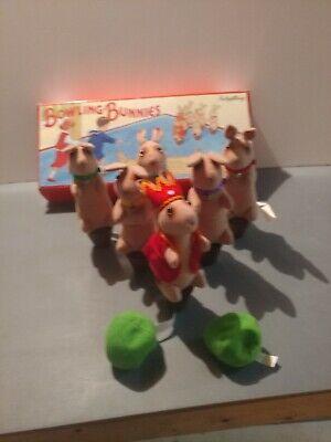 Schylling Bowling Bunnies Game bean bag  Bunny (Game Bowling)