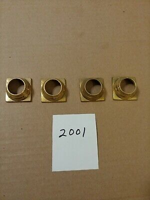 GROUP OF 4 REPLACEMENT COLUMN HOLDERS FOR  PORTICO OR MANTLE STYLE CLOCK 4 Portico Collection