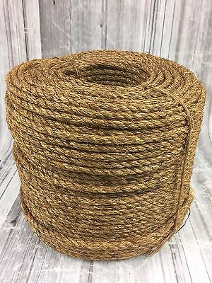 Natural Manila Decking Rope, 6mm x 220 Metre Coil, Garden, Manila for Decking