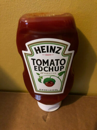 IN HAND SEALED Heinz Tomato Edchup Ed Sheeran Ketchup Limited 20OZ 09/05/20