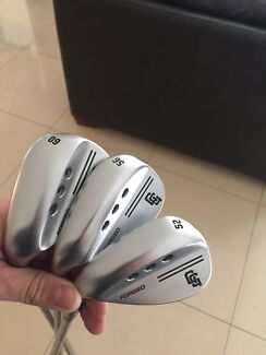 Left handed Forged Wedge set 52 56 and 60