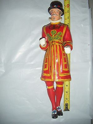 Vintage Beefeater Gin Display Advertising Figure figurine bar pub man cave 16""