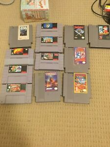Snes and nes games