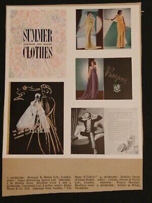 1937 Graphic Design Mock-up Modern Publicity, International Designers