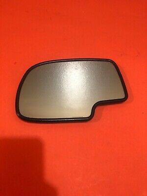 03-06 Tahoe Yukon Escalade HEAT AUTO DIM Mirror LH DRIVER GLASS ONLY No Blinker