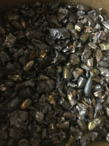 25lbs Range Scrap Lead and Copper - Casting bullets or sinkers