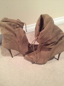 Boots, heels and bags