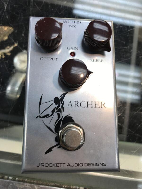 J Rockett Archer Overdrive Boost OD effects guitar Pedal MAKE OFFER !!