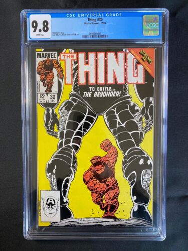 Thing #30 CGC 9.8 (1985)