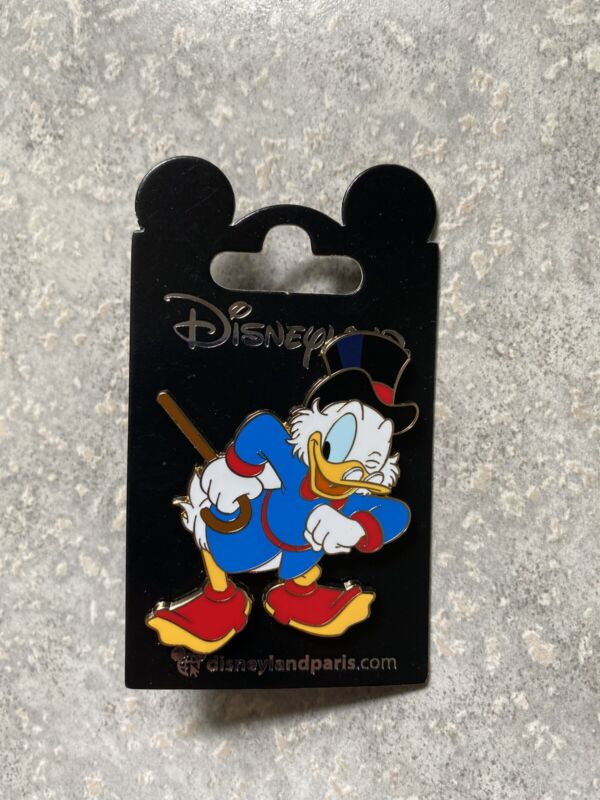 Disney DLP DLRP Disneyland Paris Winking Scrooge McDuck Pin Duck Tales 2021
