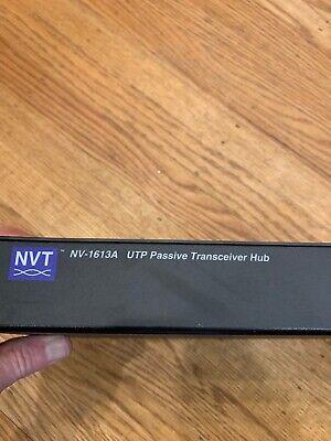 NVT NV-1613A 16 CHANNEL UTP PASSIVE TRANSCEIVER HUB