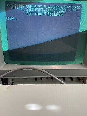 Commodore 128D W/ 1989 CMD JiffyDos Kernal 128D & 1571D Installed Read Descrip