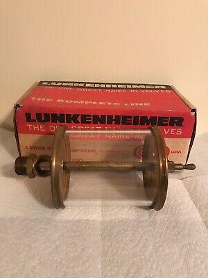 Lunkenheimer No. 8 Sentinel Oiler Brass Lubricator Steam Gas Engines