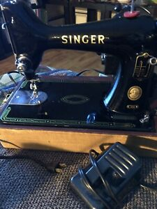 Vintage 99K Singer Sewing Machine