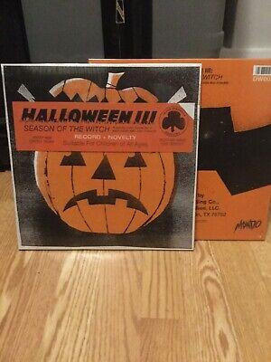 Halloween 3 Vinyl (Halloween 3 Season Of The Witch Death Waltz Colored Vinyl Sealed John)