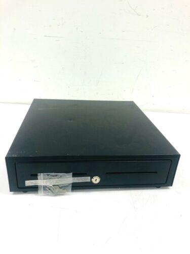 MMF Val-u-line Printer Driven Cash Drawer 5 Bill 8 Coin 2 Slot w keys 16.4x16.5