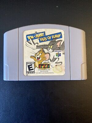 Tom and Jerry in Fists of Furry (Nintendo 64, 2000) N64 Cart Only Tested Working