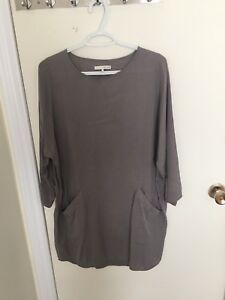 Oak and Fort Grey Tunic/Top - $20