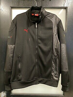 Puma Sport Official SCUDERIA FERRARI Full Zip Track Jacket - Black - Size XL