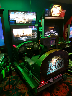 Arcade Blazing Angels simulator ..hard to obtain