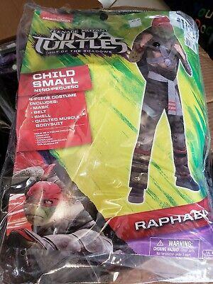 Raphael TMNT Teenage Mutant Ninja Turtles Costume Child Small Kids SM - Teenage Mutant Ninja Turtles Costumes Kids