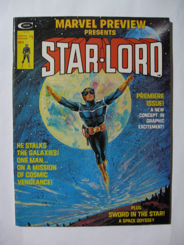 Marvel Preview # 4  Star-Lord (1976)