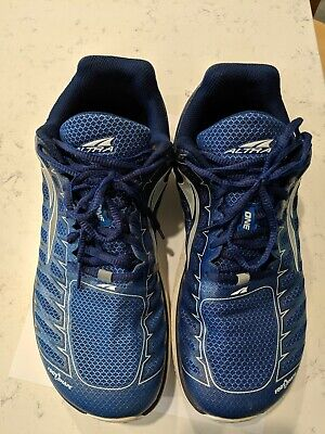 Altra Mens One V3 Blue/Gray Running Shoes Size 10 Used