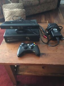 Xbox 360 + games + Kinect